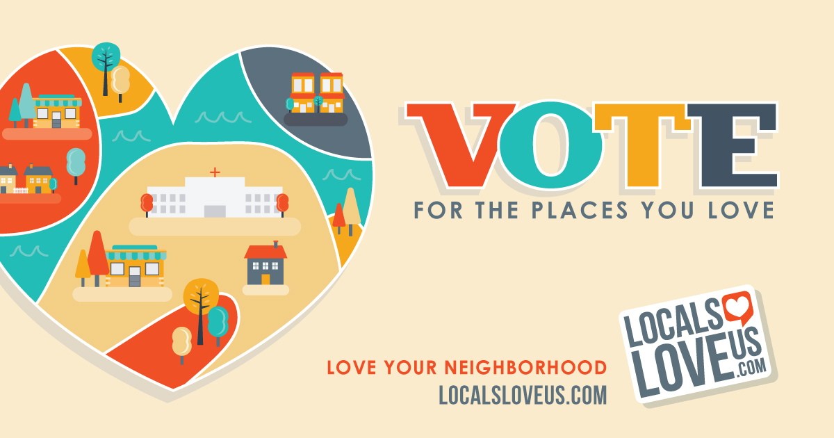 Vote for the Places You Love